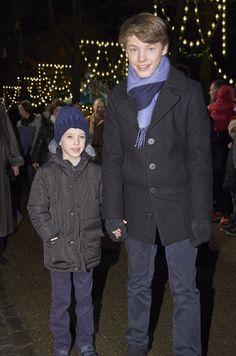 Felix et Henrik de Danemark, 1er décembre 2016