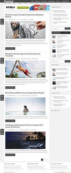 Crisp premium blog WP theme from My Theme Shop.