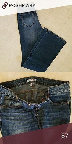 Bongo Flare Jeans Bongo Denim Flare Jeans , Size 5 , Great Condition  , 83% Cotton 16%Polyester 1% Spandex BONGO Jeans Flare & Wide Leg