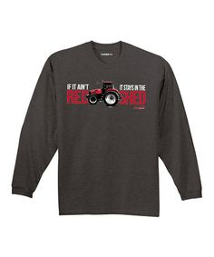 This Charcoal 'If It Ain't Red' Tee - Men by International Harvester is perfect! #zulilyfinds