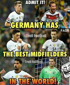 Germany National Football Team, Germany Football, Football Jokes, Football Stuff, Funny Soccer Memes, Germany Team, Big Joke, Dfb Team, Fc Bayern Munich