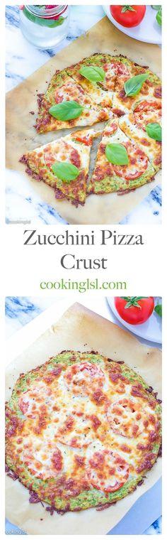 Zucchini-Pizza-Crust-Recipe #NaturalAmericanGoodness #CollectiveBias #ad