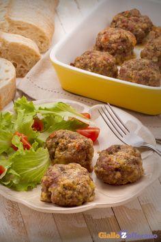 Le #POLPETTE al FORNO (baked #meatballs) sono il secondo piatto che piace a tutti, grandi e piccini! #ricetta #GialloZafferano #recipe