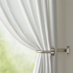 Wallace 52x84 White Grommet Curtain Panel