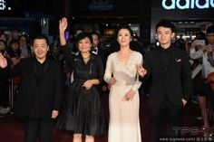 (CRI) Chinese director Jia Zhangke has brought his latest film 'Mountains May Depart', also known as 'Shan He Gu Ren' in Chinese, to the Taipei Golden Horse Film Festival.  The director walked the red carpet along with his film's leading cast including actress Zhao Tao, Sylvia Chang, and actor Dong Zijian.  http://www.chinaentertainmentnews.com/2015/11/jia-zhangke-brings-mountains-may-depart.html