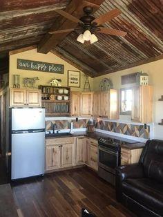 Corrugated Metal, Barndominium, Rustic, Kitchen, Home Decor, Country Primitive, Cooking, Decoration Home, Corrugated Tin