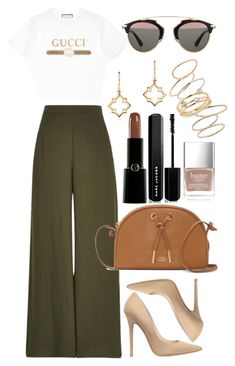 Untitled #4514 by dudas2pinheiro on Polyvore featuring polyvore fashion style Gucci River Island Jimmy Choo Vince Camuto BP. Birks Christian Dior Marc Jacobs Giorgio Armani Butter London clothing