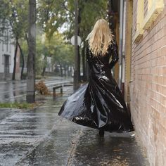 Latex catsuit and PVC Fiat What do you think about from this combination? Latex Catsuit, Latex Fashion, Rain Wear, Raincoat, Lady, Leather, Clothes, Shopping, Dresses