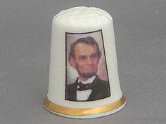 Finsbury Thimble - US President Abraham Lincoln