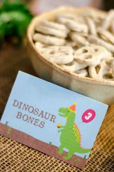 Sawyer's Dino-mite 3rd Birthday Bash! | CatchMyParty.com