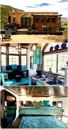 Try out tiny house living in these 18 beautiful holiday homes - - Are you dreaming of building or buying your very own tiny house or just wonder what the whole tiny living movement is about? Then try out micro living by bookin. Tiny Houses For Rent, Tiny House Listings, Tiny House Plans, Tiny House On Wheels, Tiny Living, Living Spaces, Simple Living, Tyni House, Tiny House Nation