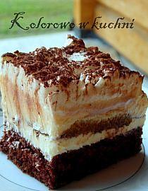 Stylowi.pl - Odkrywaj, kolekcjonuj, kupuj Polish Recipes, Food Cakes, Bon Appetit, Tiramisu, Cake Recipes, Food And Drink, Cooking Recipes, Sweets, Baking