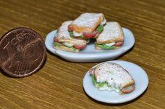 sanwich en fimo , escala 1:12