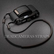Brown&Black Leather Shoulder/Neck Strap Fuji GF670, XT-1, X-Pro1, X-E2, GW690