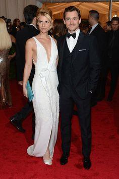 Claire Danes & Hugh Dancy ~ Costume Institute's Met Gala ~ May 7, 2012 ~ New York's Metropolitan Museum of Art
