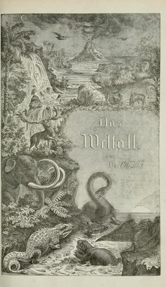Das Weltall; - Biodiversity Heritage Library