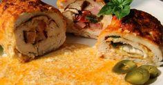 Na přípravu budete potřebovat:  3 kuřecí řízky oblíbené koření ( lze v... Hummus, Crockpot, Meat, Chicken, Ethnic Recipes, Kochen, Homemade Hummus, Beef, Slow Cooker