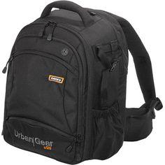 NWT NANEU Urban Gear U120 SLR/Laptop Camera Backpack Bag Tote Travel Black #Naneu