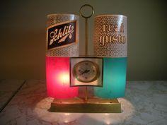 Schlitz 1962 Vintage Ultra Modern Lighted Motion Beer Bar Advertising Sign Clock | eBay Sign Lighting, Modern Lighting, Vintage Beer Signs, John Glenn, Schlitz Beer, Beer Art, Vintage Clocks, Advertising Signs, Time Capsule