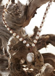 Baroque pearls. Perfectly imperfect.