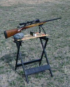 Attirant This Is Homemade Portable Shooting Bench Plans