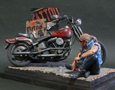 "Diorama - ""Tattoo"" by Noboru Watabe"