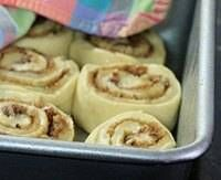 Cinnamon Rolls for the Bread Machine. I've made these, froze, thawed over night and baked in the morning. Delicious!