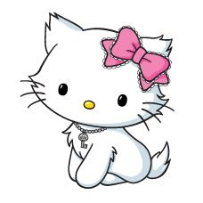 Charmmy Hello Kitty Coloring Pages