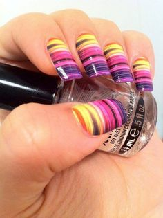 cool leo print nails - http://yournailart.com/cool-leo-print-nails/ - #nails #nail_art #nails_design #nail_ ideas #nail_polish #ideas #beauty #cute #love