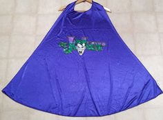 """The Joker Exclusive Six Flags Great America Youth Kids Cape Costume Batman 39"""" #SixFlags"""