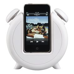 MP3 Alarm Clock Docking Station and Speakers.