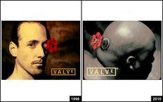 VALVE'S eventual logo evoultion