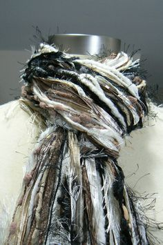 ****SALE**** For a limited time the Sophisticated All Fringe Scarf is on sale for $29.97. Thats $10 off!!! Get it whiles supplies last!!!  Womens Fashion Fringe Scarves. I've had a lot of requests to make a Vixen All Fringe Scarf in a combination of Black, Brown, and Cream. Back to Basics has a beautiful mix of black, brown, camel, beige, tan, cream and ivory.  ★・゜・・゜・★ HOME OF THE ORIGINAL ALL FRINGE KNOTTED SCARF ★・゜・・゜・★  Be a part of the latest fashion trend in unique fiber art and you…