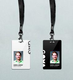 Brand New: Qagoma Identity Card Design, Graphic Design Brochure, Graphic Design Tools, Corporate Identity Design, Event Branding, Id Design, Badge Design, Branding Design, Employee Id Card