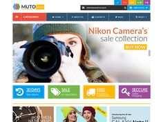 Muto - Mega Shop Bootstrap Template by DevItems