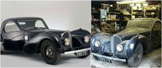 This Art Deco Bugatti from 1937, spent 48 years catching dust in a garage, then it sold for £3 Million ...