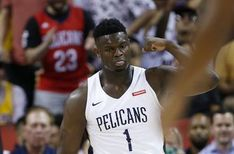 LAS VEGAS (AP) — Zion Williamson's summer league is over. The New Orleans Pelicans say the No. 1 pick in this year's NBA draft will not play any more at th Fluid In Lungs, Pleural Effusion, Nba Draft, New Orleans Pelicans, Basketball Leagues, Sports News, Las Vegas, Tank Man, Play