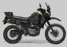 KLR 650 Concept - how I intend mine to look