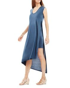 BCBGMAXAZRIA Natallie Asymmetric High/Low Jersey Dress | Bloomingdale's
