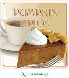 Get into the Fall Holiday mood with Pumpkin Spice Coffee brewed at home.  No need to go to a coffee shop. http://www.veggiesensations.com/products/pumpkin-spice-flavored-coffee