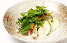 Summer vegetables with smoked cheese and herbs - Christoffer Hruskova
