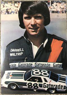 Darrell Waltrip circa 1976 Nascar Race Cars, Old Race Cars, Racing News, Auto Racing, Terry Labonte, Nascar Champions, American Racing, Dale Earnhardt Jr, European Football