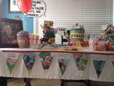 Popeye 1st birthday party!