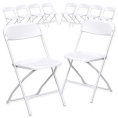 folding lawn chairs ontario chair stools 75 best plastic images flash furniture in white set of 10
