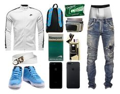 """""""Blaide 13"""" by itzyalocalwhiteboy on Polyvore featuring Balmain, men's fashion and menswear"""