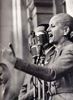 Eva Peron, the former First Lady of Argentina