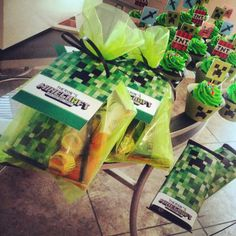 Minecraft Birthday Party Ideas and Invitations!