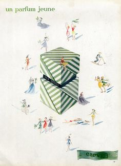 Carven (Perfumes) 1947 Ma Griffe sharp green perfume that's also bright and sunny!