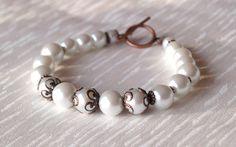 Bridesmaids Jewelry Bracelet Rustic Wedding by LaurinWedding, $21.00