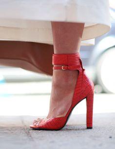 Margaret Zhang wears Tone trousers, Alexander Wang shoes - New York Fashion Week, Spring 2014